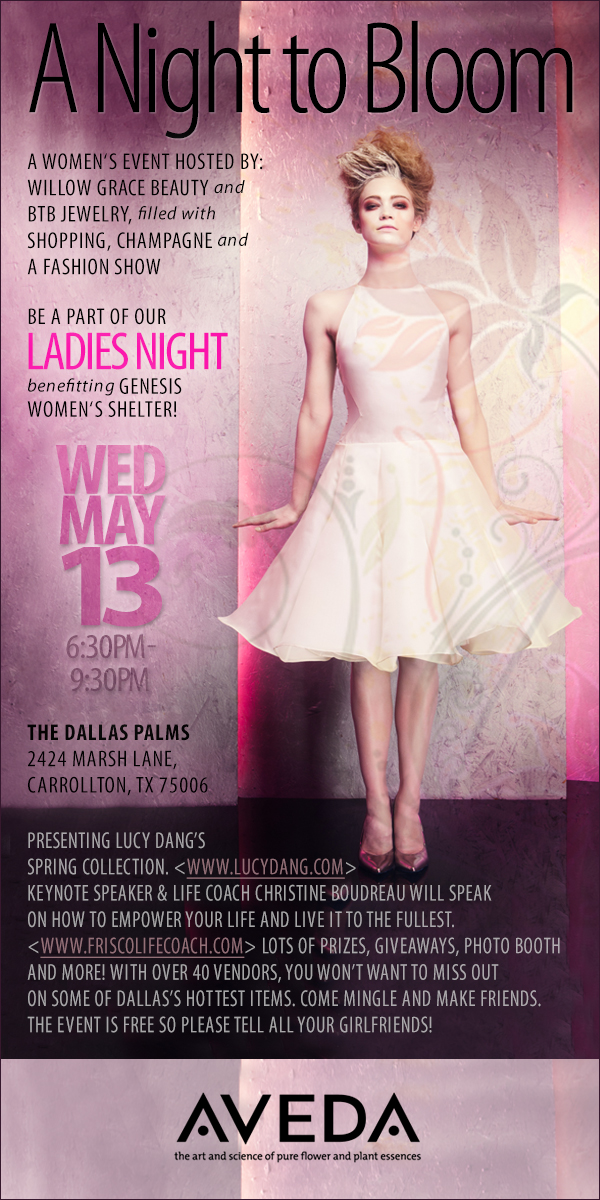 A Night to Bloom A Women's Empowerment Event and Fashion Show