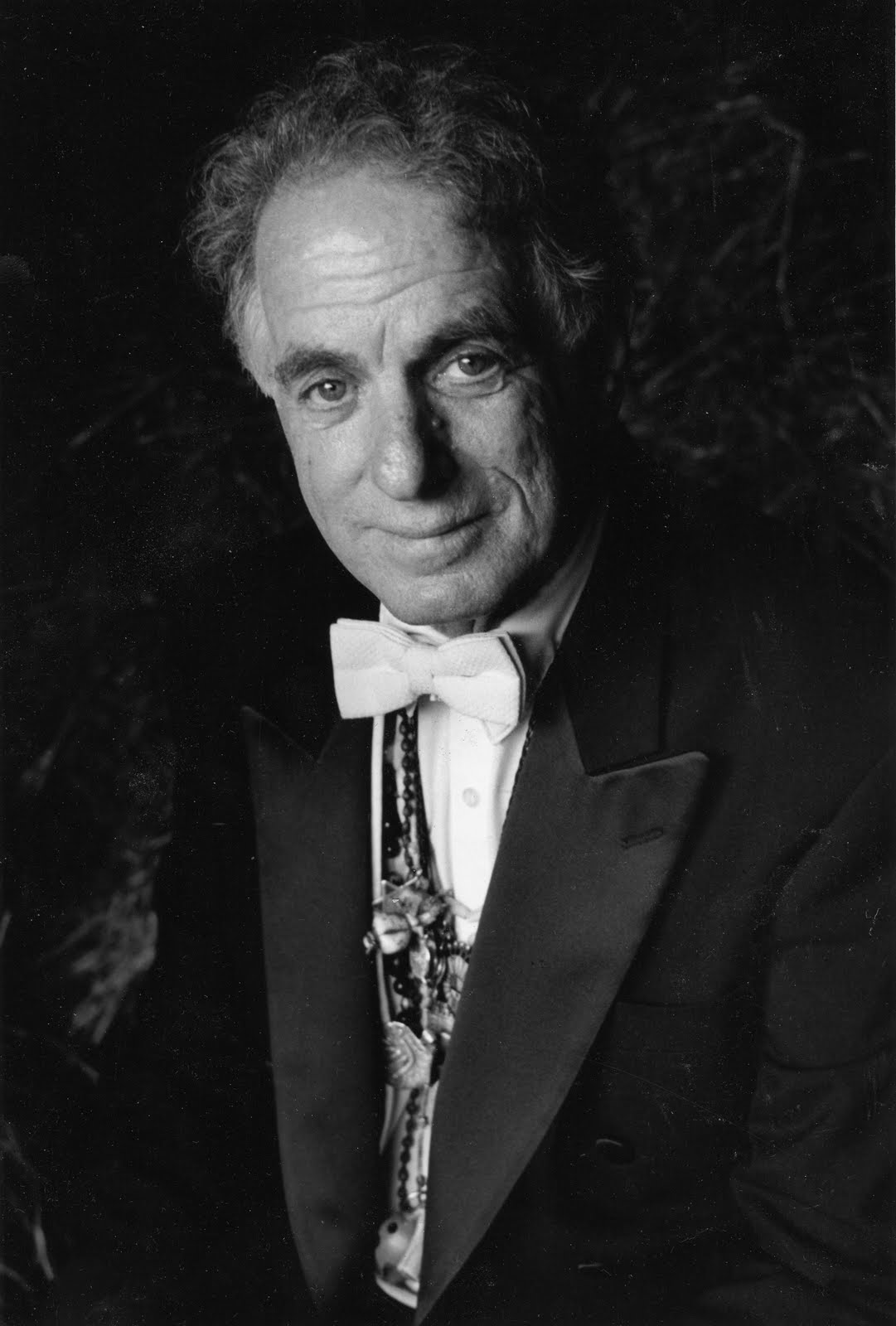 Black & White portrait of David Amram