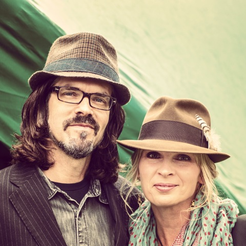 portrait of husband and wife band Over the Rhine