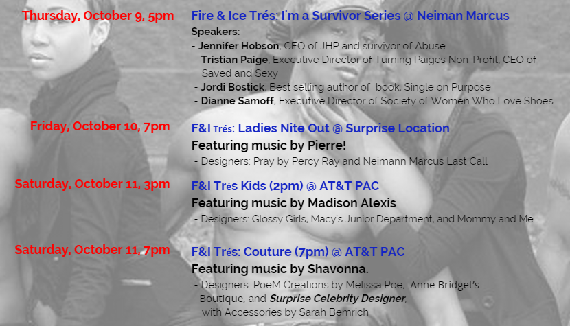 Fire & Ice Tres Fashion Show and Concert?