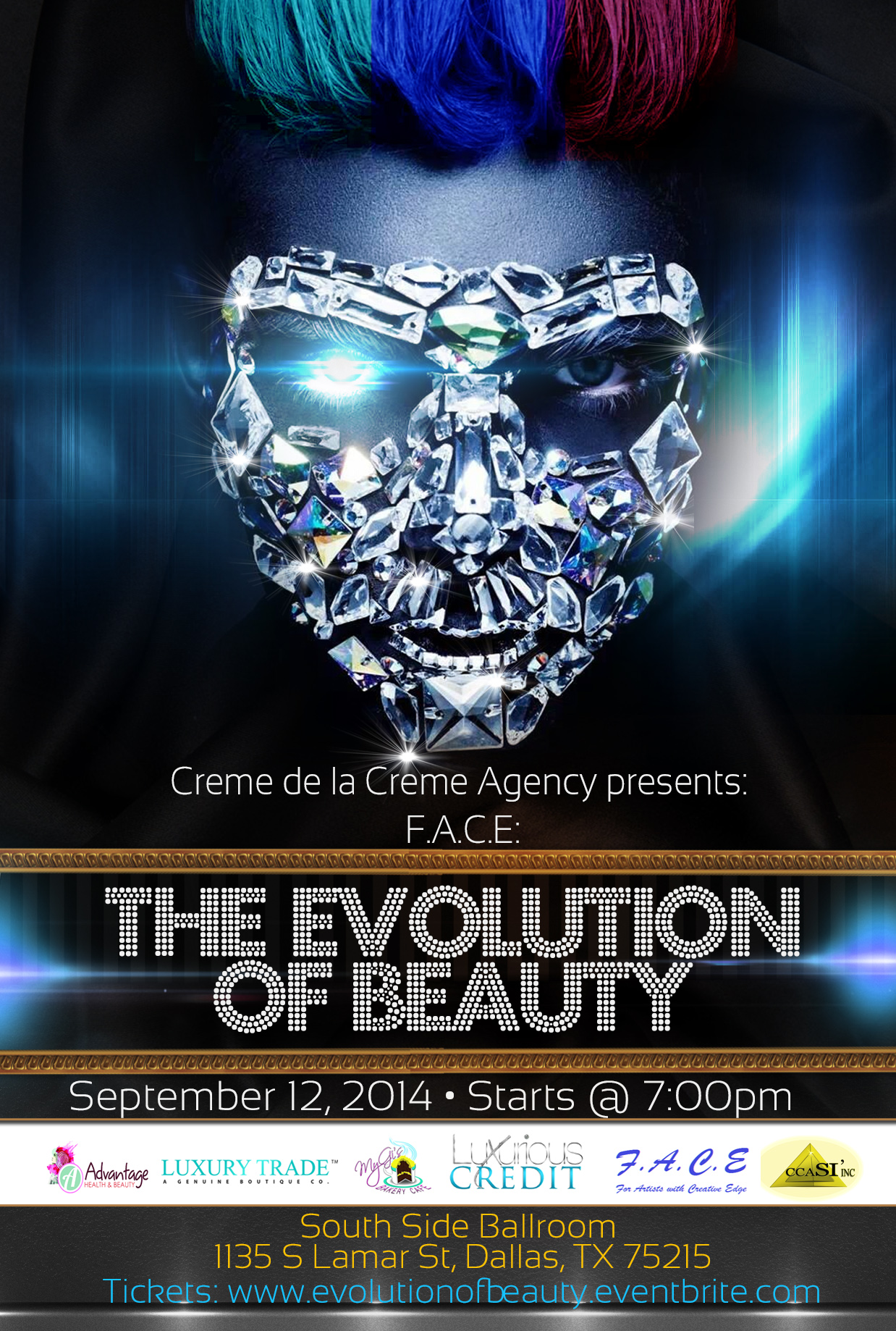 face the evolution of beauty show