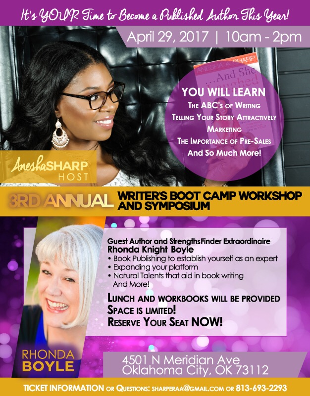The Writer S Boot Camp A Local Work Series Presented By Besting Author Anesha Sharp Designed With Authors In Mind This Is Created To