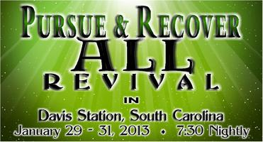 PURSUE AND RECOVER ALL Revival