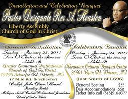 Rex A. Houston's Pastoral Installation  Sunday Jan 23...