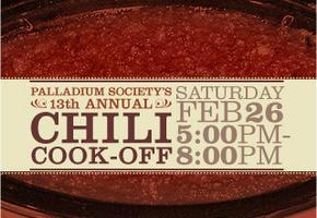 The Palladium Society's 13th Annual Chili Cook-Off