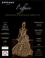 L'AFFAIRE - A fashion soiree to benefit homeless...