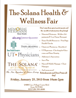 The Solana Health and Wellness Fair