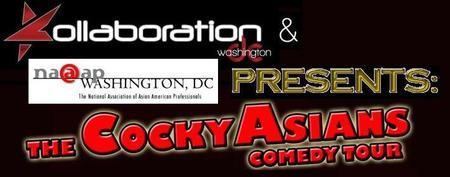 Cocky Asians Comedy Tour - Washington, DC