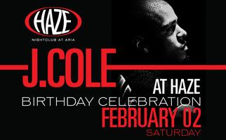 J. Cole Performs Live and Celebrates his Birthday