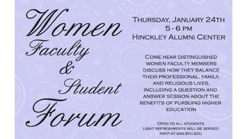 GSS Woman Faculty & Student Forum