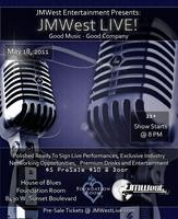 JMWest LIVE! - May 18th - 8PM