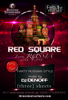 Red Square Party - from Russia with love!