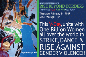 Rise Beyond Borders:The Official V-Day Flash Mob After...