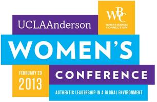 2013 Women in Business Leadership Conference at UCLA...