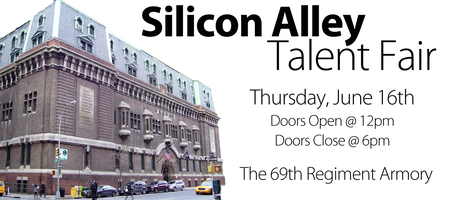 Silicon Alley Talent Fair & After Party (Employer)