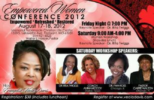 """EMPOWERED """" TO SERVE""""  WOMEN CONFERENCE  2012"""