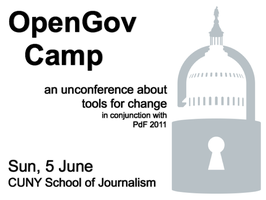 OpenGov Camp, an unconference about tools for change