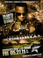 YO GOTTI, MEMORIAL DAY WEEKEND BASH.