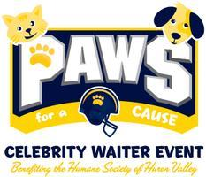 1st Paws for a Cause Celebrity Waiter Event   hosted...