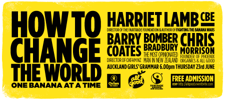 HOW TO CHANGE THE WORLD - ONE BANANA AT A TIME