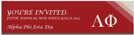 5th Annual Red Dress Gala