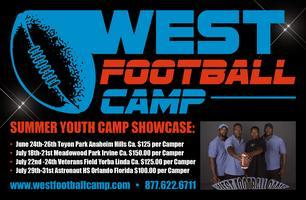 West Football Camp Hosted by the Irvine Chargers