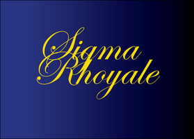 Sigma Rhoyale: A Dinner and Dance Celebration