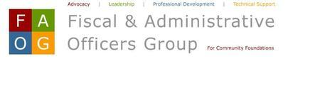 Fiscal & Administrative Officers Group - Annual...