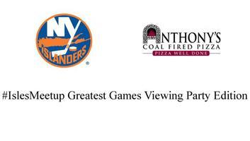 #Isles Viewing Party Anthony's Coal Fired Pizza...