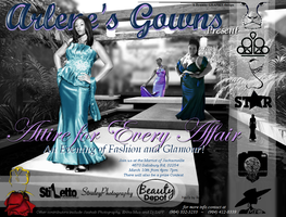 "Arlene's Gowns Presents ""Attire for Every Affair"" 1st..."