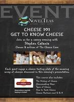 Cheese 101, A SAVORY EVENING with THE CHEESE CAVE