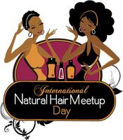 International Natural Hair Meet Up Day hosted by LA Cur...