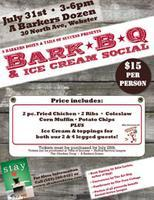 Bark-B-Q and Ice Cream Social featuring a Book Signing...