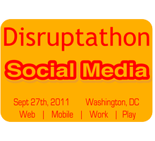 Disruptathon Social Media