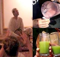 Devotional Chanting and Wellness Juice Celebration