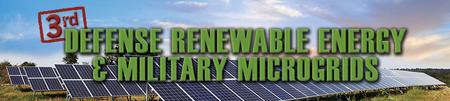 Infocast's 3rd Defense Renewable Energy and Military...