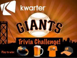Giants Trivia Challenge: Kwarter Pre-Game Party @...