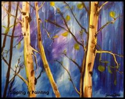 Sip N' Paint Spring Forest Saturday April 27th, 4pm