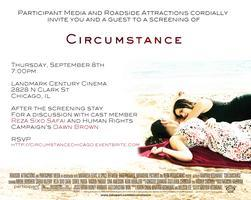 CIRCUMSTANCE Advance Screening - Chicago