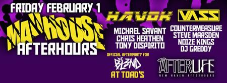 MADHOUSE : Afterhours DJ Bl3nd official afterparty