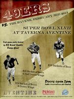 Aventine SUPER BOWL Party