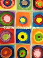 Create a Canvas Painting Class -  KANDINSKY PAINTING