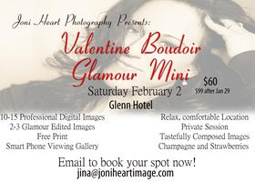 Valentine Day's Boudoir Session