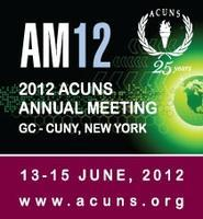 Welcome to the ACUNS 2012 Annual Meeting Registration...