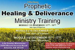 LAST FULL DAY TO REGISTER! 3 Day Prophetic Healing &...