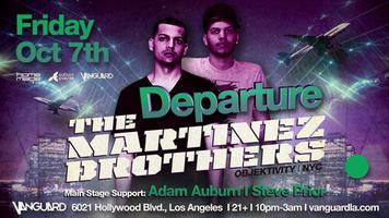Departure at Vanguard w/ The Martinez Brothers, Adam...