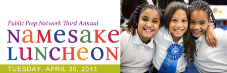 Public Prep Network Third Annual Namesake Luncheon