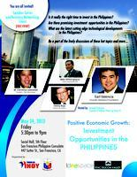Why it is time to invest in the Philippines: Seminar...