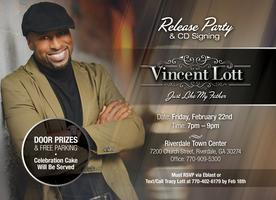 Vincent Lott's CD Release Party and CD Signing