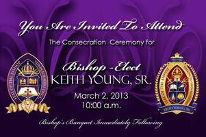 Bishop-Elect Keith Young, Sr. Consecration Ceremony...